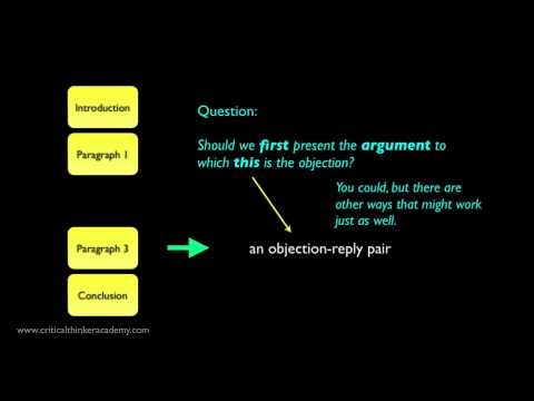 Analysis of a Sample Argumentative Essay: The Main Body
