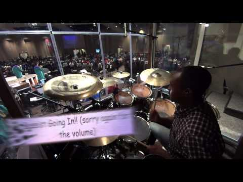 The Blood of Jesus by Myron Butler (drum cover)