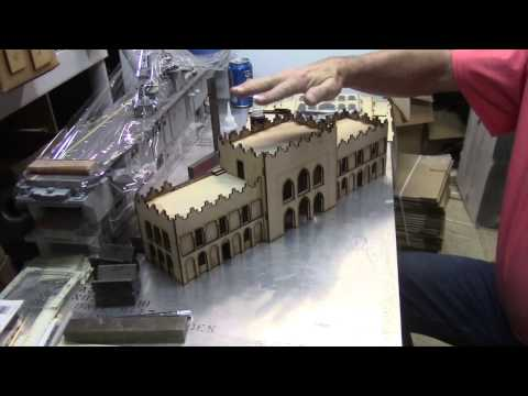 Assembly of the GameCraft Miniatures Blackhawk Down Building