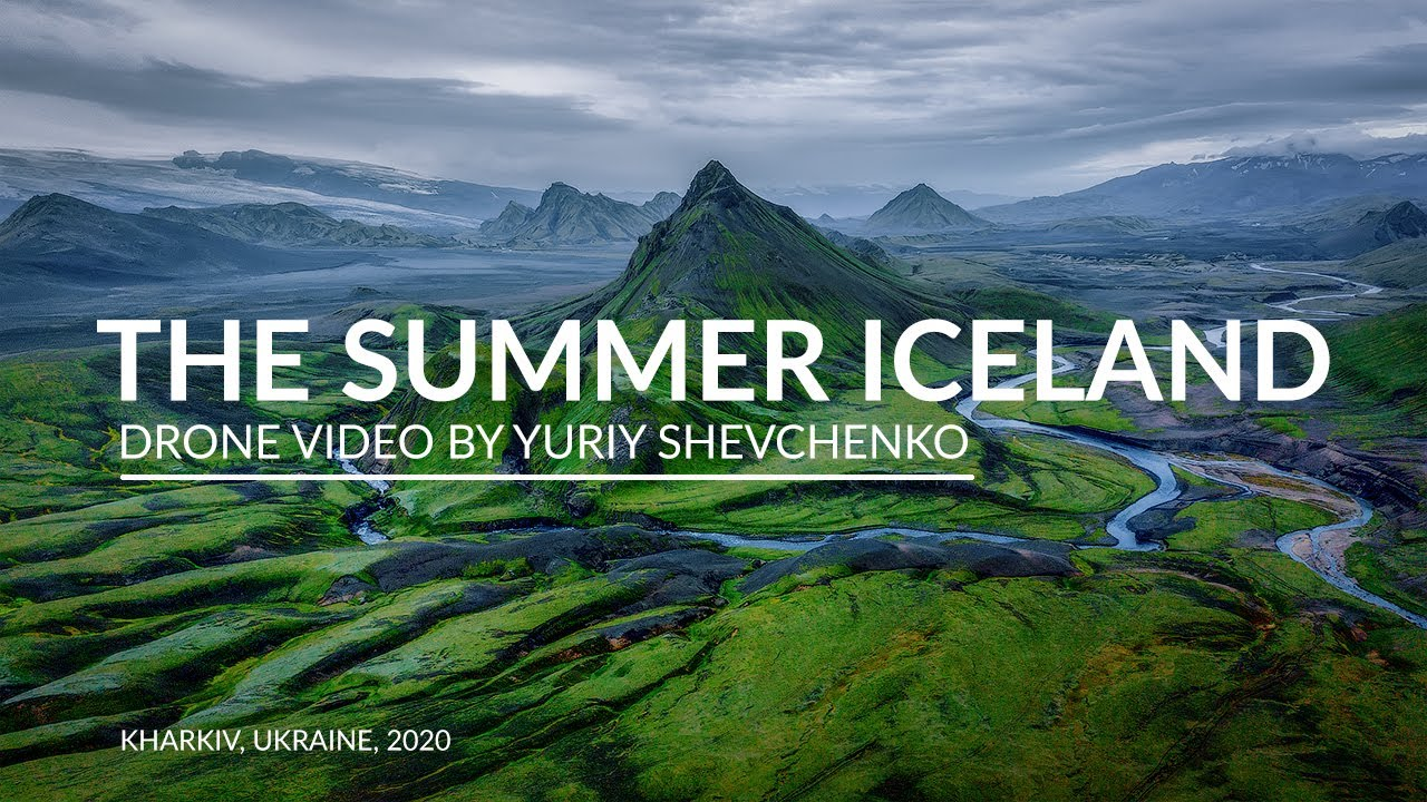 THE SUMMER ICELAND 4К.