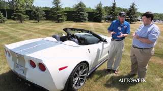 Chevrolet Corvette 427 Convertible 2013 Videos