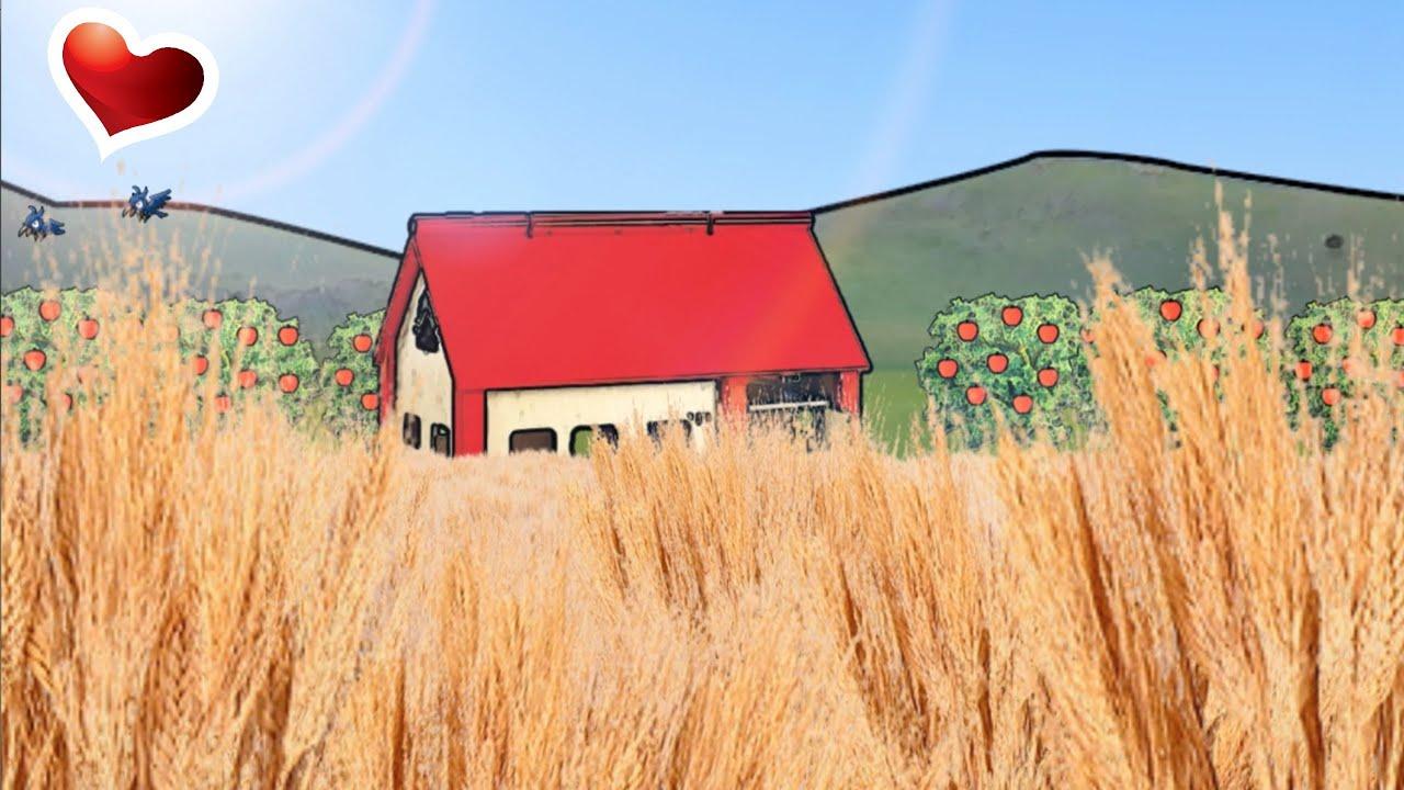 La nuova fattoria canzoni per bambini e bimbi piccoli for Planimetrie rustiche della fattoria