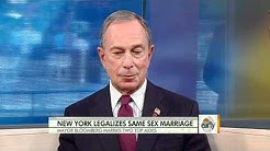 Gay marriage legal Sunday in N.Y.