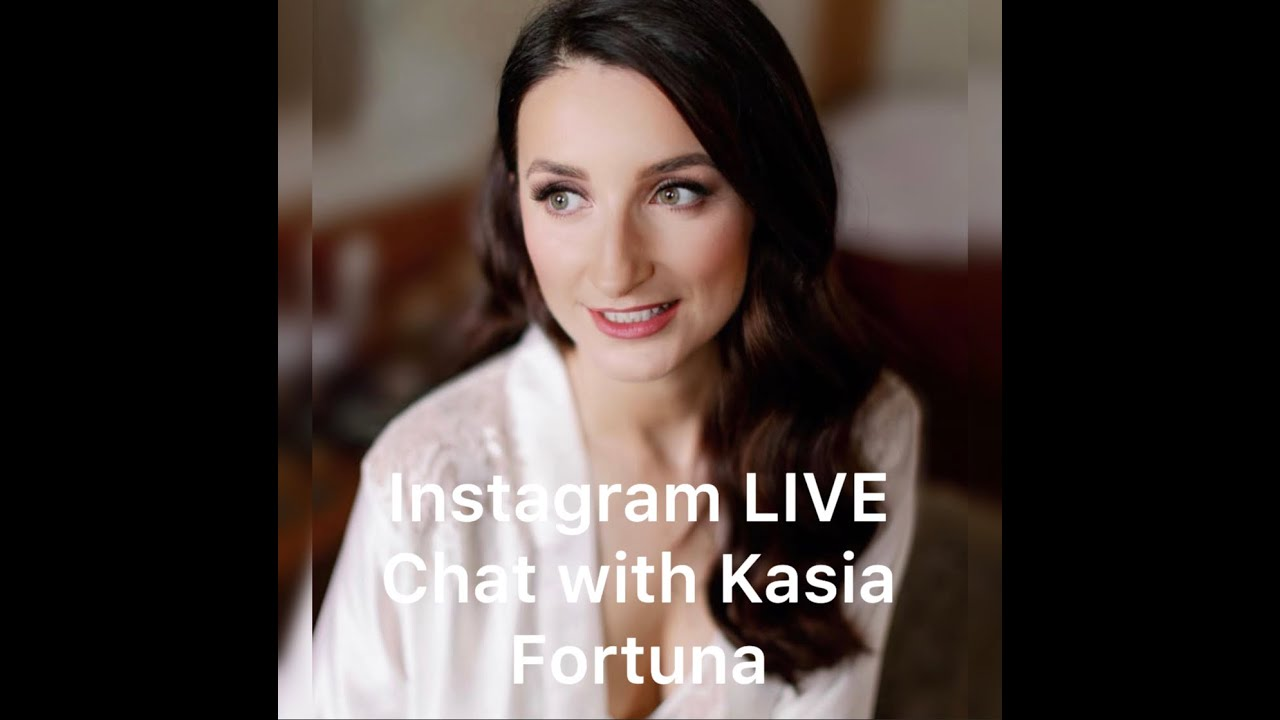 LIVE Instagram chat with Hairstylist Kasia Fortuna