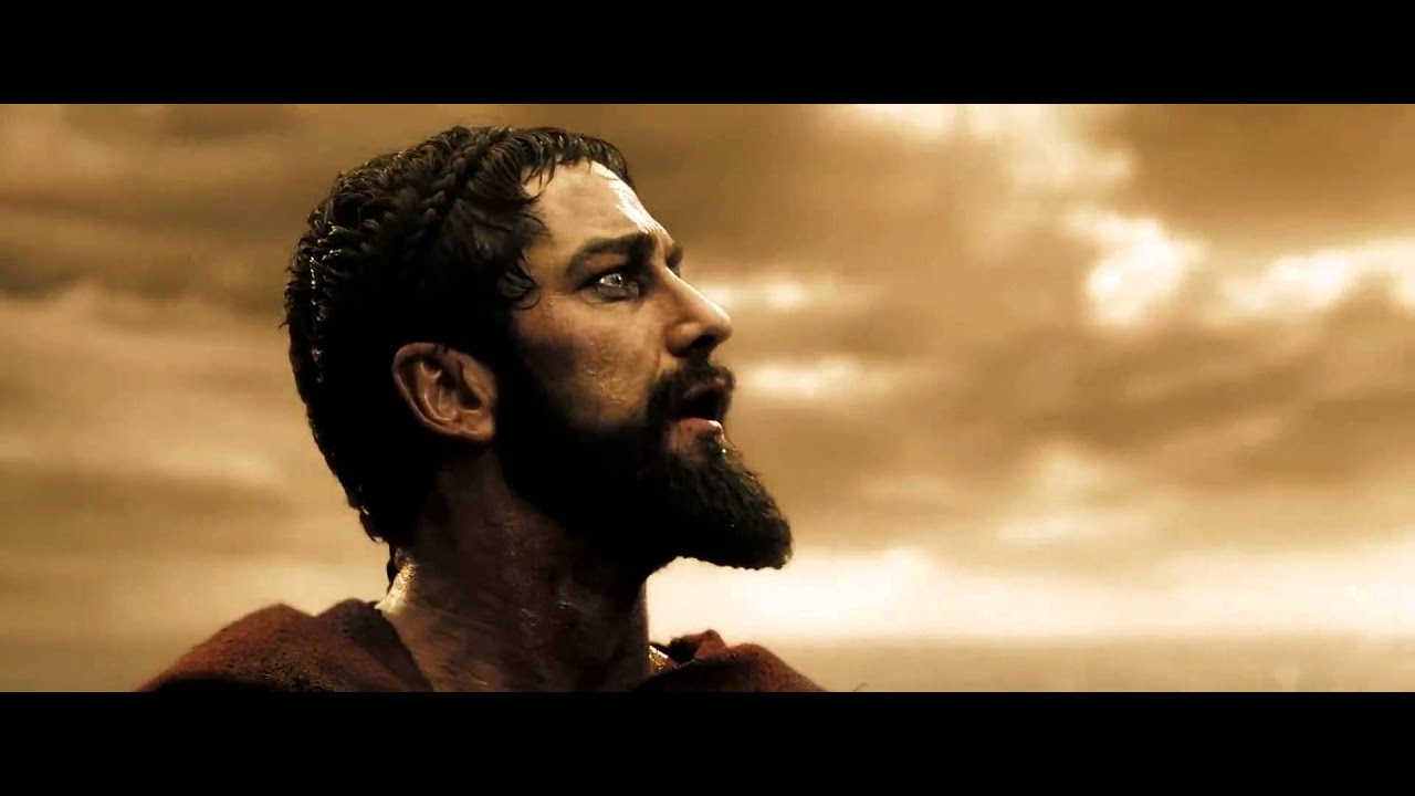 300 Full Movie >> end of leonidas 300 - YouTube