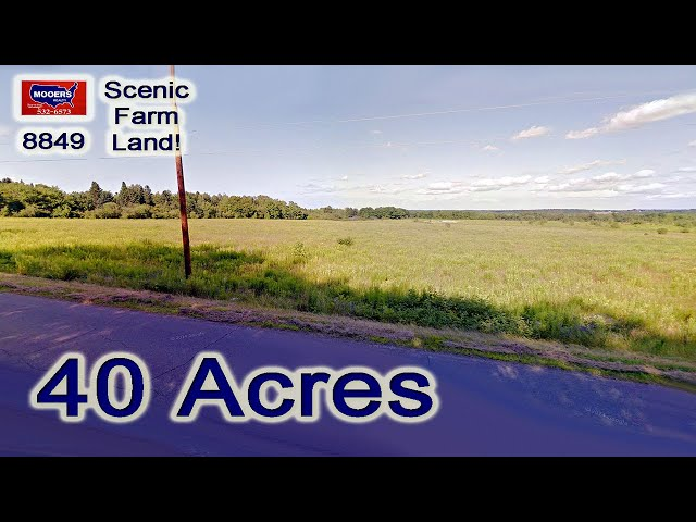 Land For Sale In Maine | New Limerick RD Linneus ME MOOERS REALTY #8849