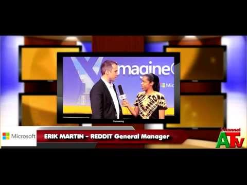 Erik Martin - Channel A TV Imagine Cup interview with Crystal Brown