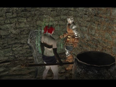 Dark Souls 2 Central Earthen Peak Locked Door Location