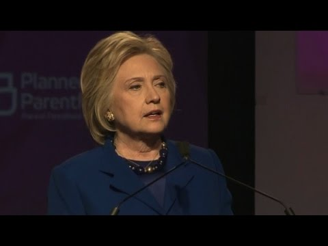 Hillary Clinton's entire Planned Parenthood speech