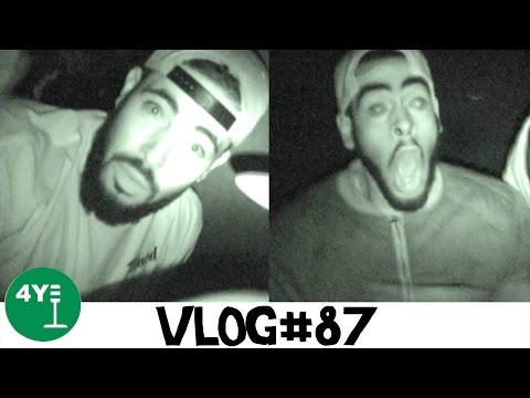 WE SURVIVED NIGHTMARES FEAR FACTORY! [VLOG#87]