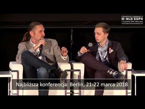 Jak inwestować w kryptowaluty Debata CryptoCurrency World Expo 2017 - 1 Grudnia 2017 Warszawa