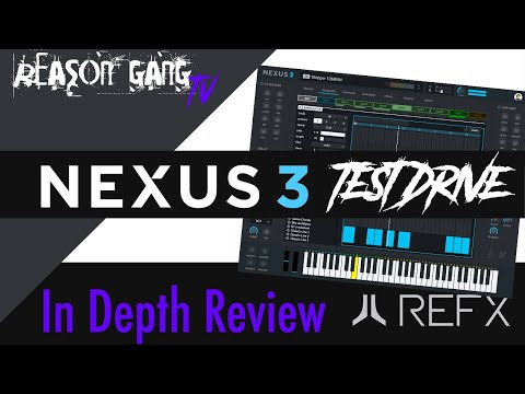 Nexus 3 Vst Review Test Drive! New Sounds, Arpeggiator, Librarian, & FX!