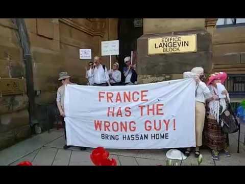 Vigil for Hassan Diab - May 17, 2017