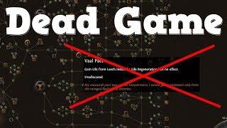 Vaal Pact is Dead   Game is Dead   (satire/talk)