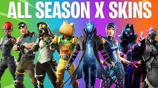 Fortnite All SEASON X Skins (All 60 Season 10 skins)