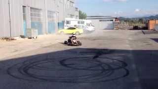 Karting avec moteur Kawa Z750