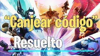 Solución Fortnite canjear código NINTENDO SWITCH/ COMO DESCARGAR FORNITE EN SWITCH latinoamericana