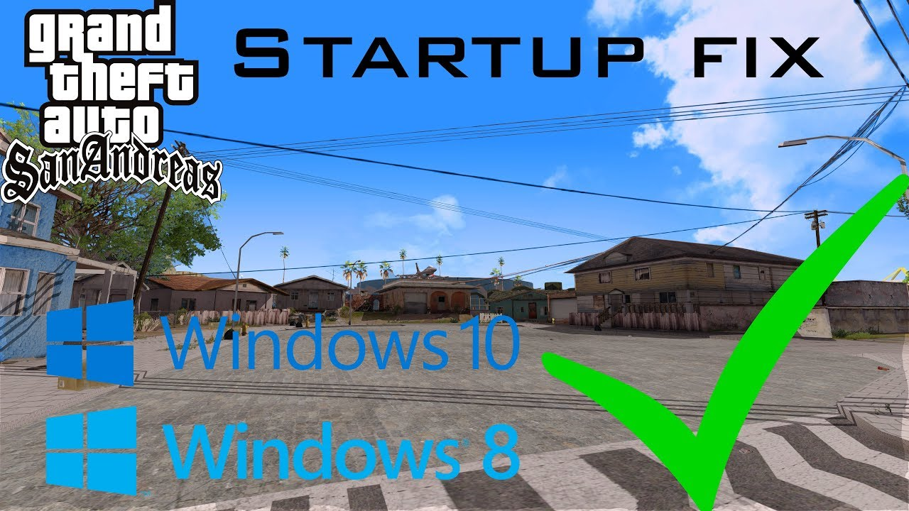 Grand Theft Auto San Andreas for Windows 8 - Download