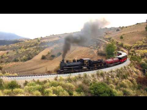 La Locomotora N° 58 Recorriendo por la ruta tren de hielo