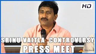Sreenu Vaitla Controversy Press Meet On Prakash Raj (HD)