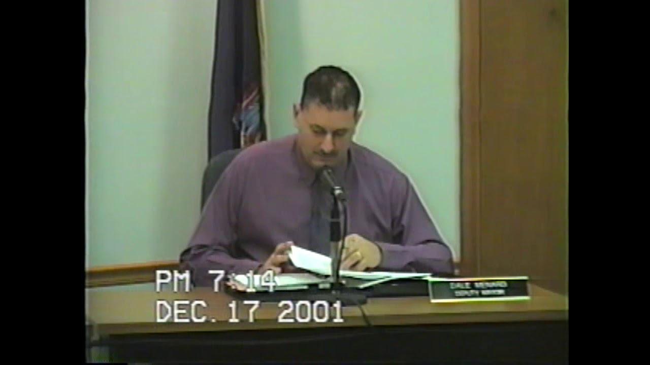 Rouses Point Village Board Meeting  12-17-01