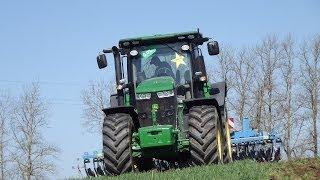 John Deere 7290R - AGRO SIEĆ   Przygotowania pod siew