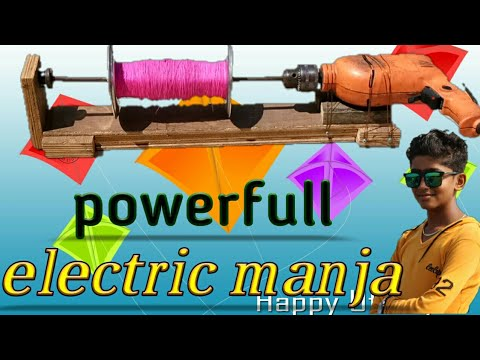 How to make electric power full manja