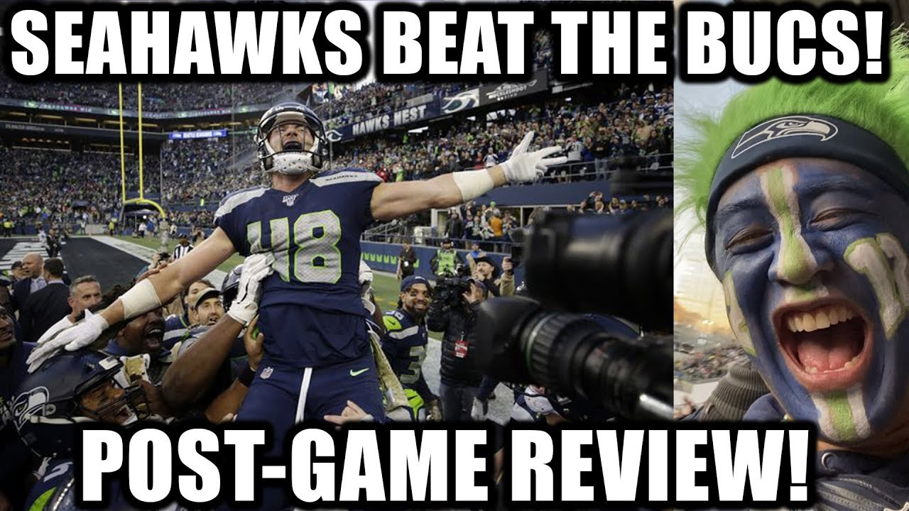 Seahawks Beat The Bucs In Overtime Post Game Review