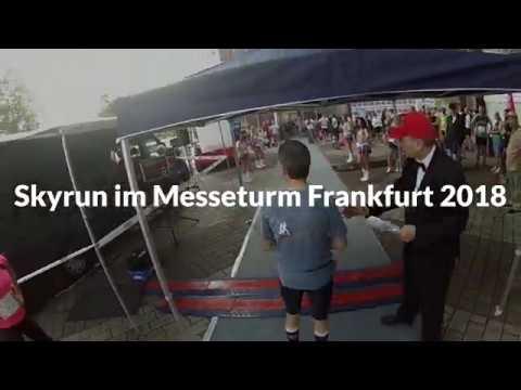 Skyrun Im Messeturm Frankfurt 2018 - Treppenlauf
