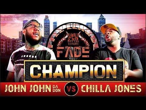 CHAMPION   JOHN JOHN DA DON VS CHILLA JONES - BULLPEN