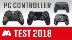Der beste PC Controller ► Der große Test & Vergleich (PS4, Xbox One, Switch, Steam)