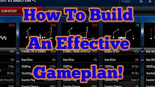 WATCH THIS TO LEARN HOW TO MAKE AN EFFECTIVE GAMEPLAN IN MADDEN MOBILE!