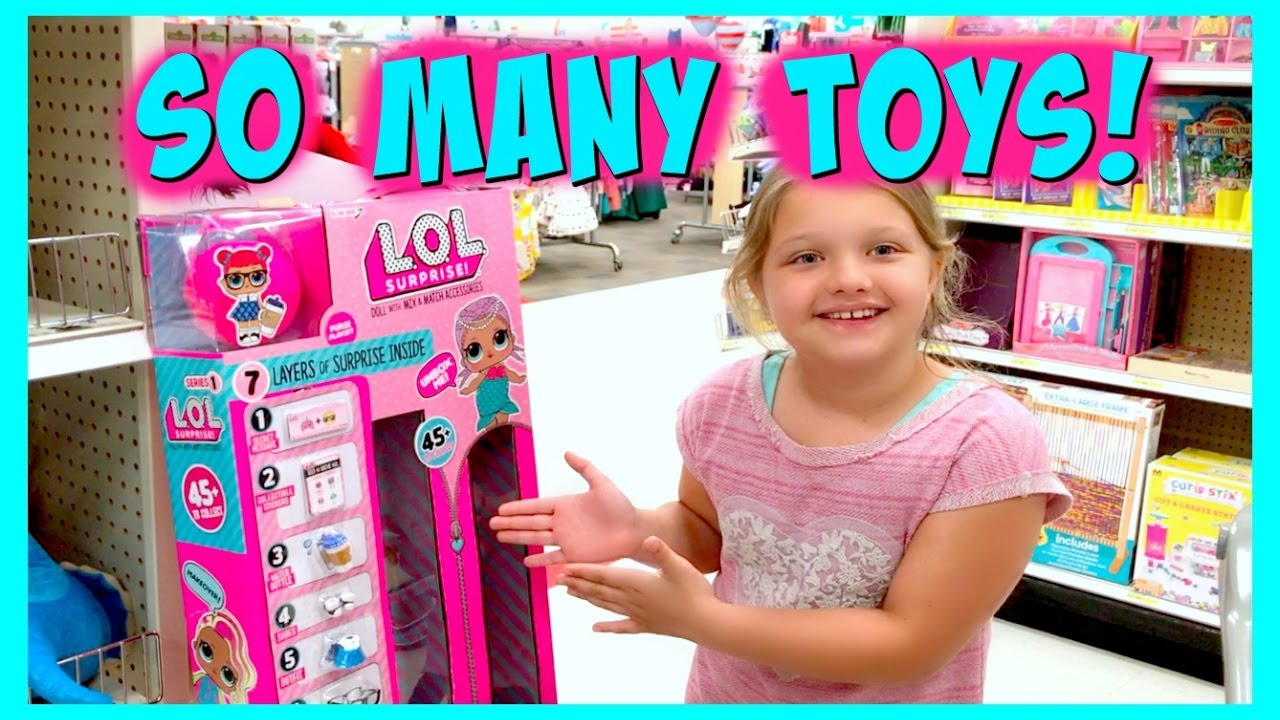 Toys For Girls Lol : Toy shopping at target for lol dolls surprise