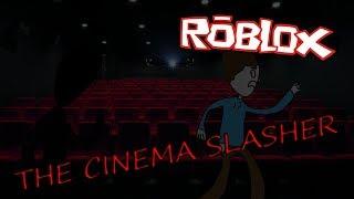 This man tried to kill me! (Roblox THE CINEMA SLASHER)