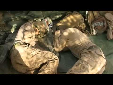 """How We Sleep"" -- Marines in Marjah, Afghanistan"