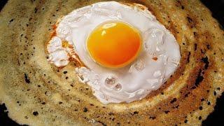 Egg Dosa Recipe easy & tasty Egg Dosa Hyderabad special Egg Dosa