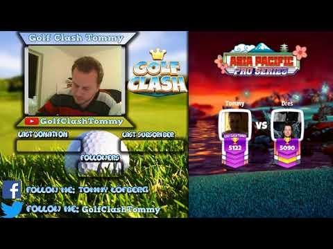 Golf Clash stream, Preparing for the tournament - Creepy Cliffs!!