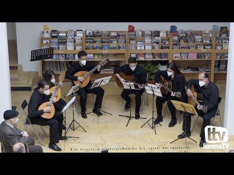 """VÍDEO: Actuación de la Orquesta de pulso y púa """"Aras"""". Concierto """"Buen folk para entrar en calor"""""""