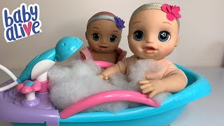 Baby Alive Real as Can Be baby Morning and Night Routine