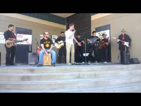 Mark Hanson Hughson high school guitar club
