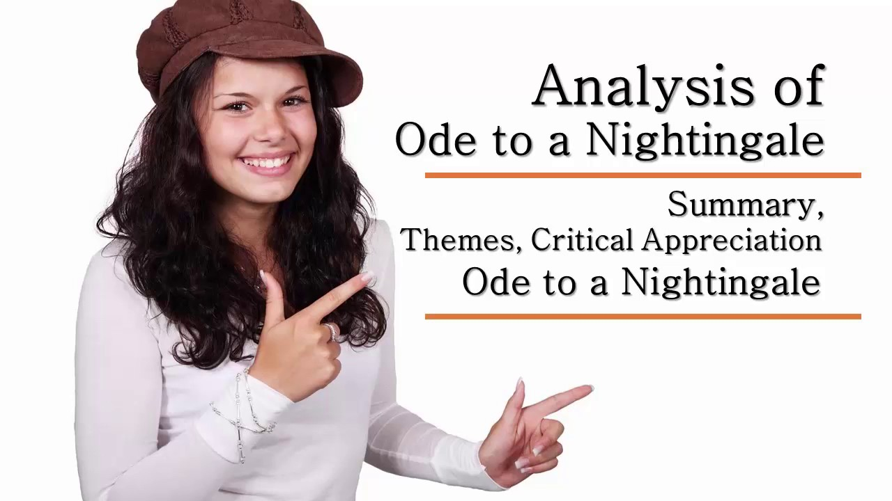 ode to a nightingale analysis summary themes critical ode to a nightingale analysis summary themes critical appreciation audio book