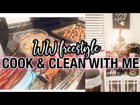 cook-&-clean-with-me-  -ww-freestyle-meal-prep-monday-  -buffet-style-easy-meal-prep