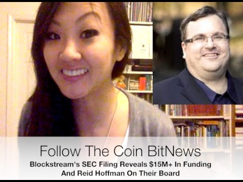 BlockStream's SEC Filing Reveals $15M+ In Funding & Reid Hoffman On Their Board