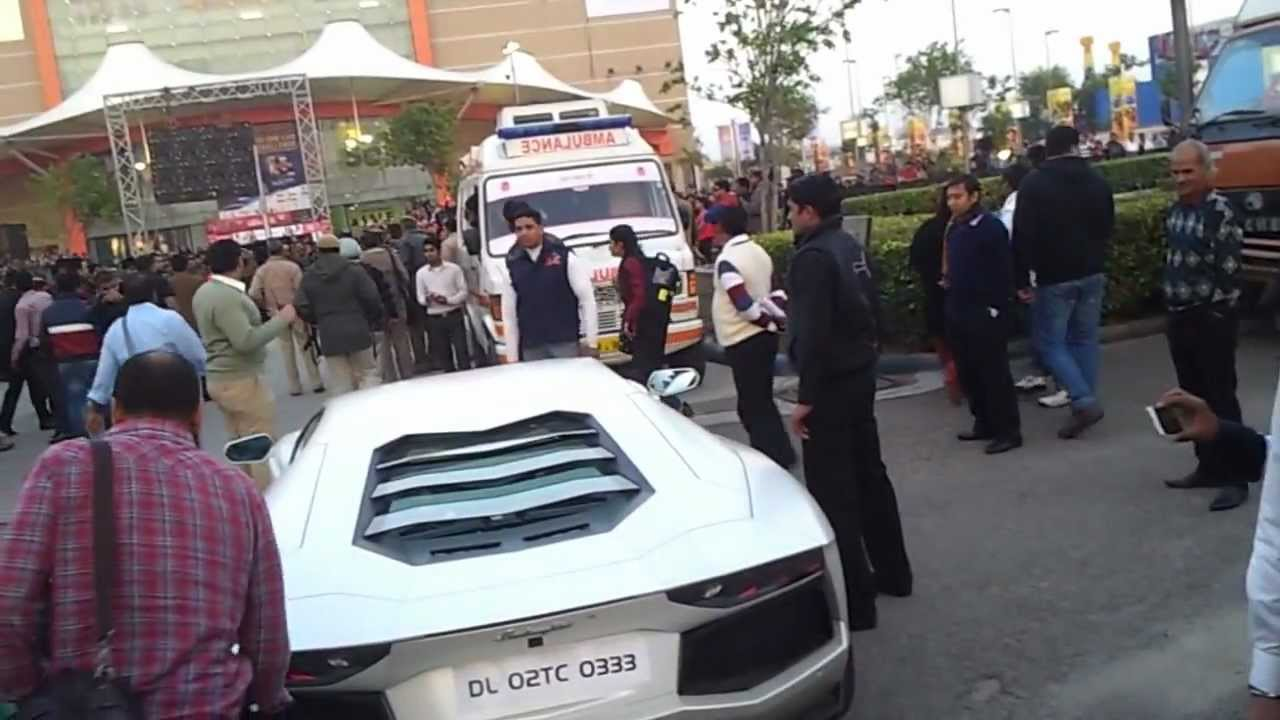 Lamborghini Aventador In India Youtube