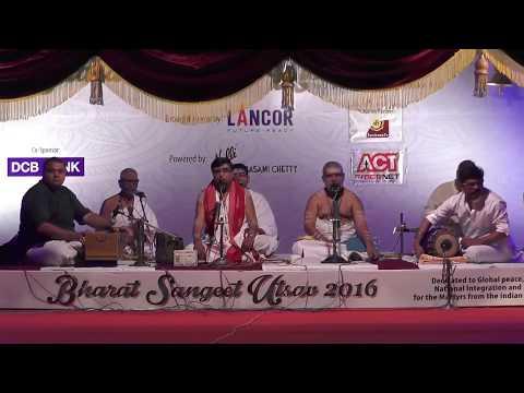 Sampradaya Bhajanai   Udayalur Kalyanaraman   Bharat Sangeet Utsav 2016   NGS