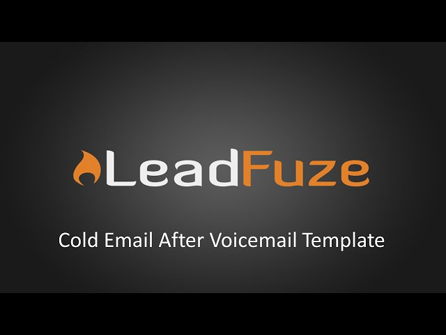 Cold Email Template Issues: Are You Still Using These Stale Tactics?