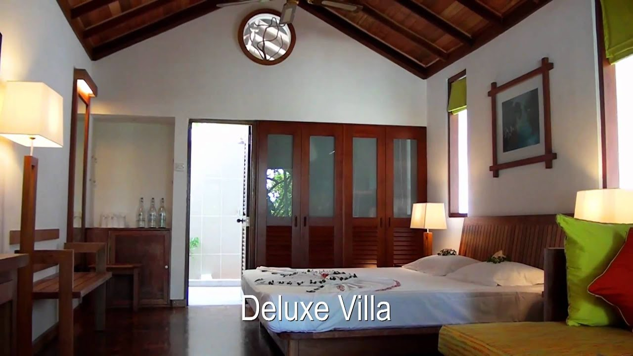 Reethi Beach Resort Water Villa Youtube