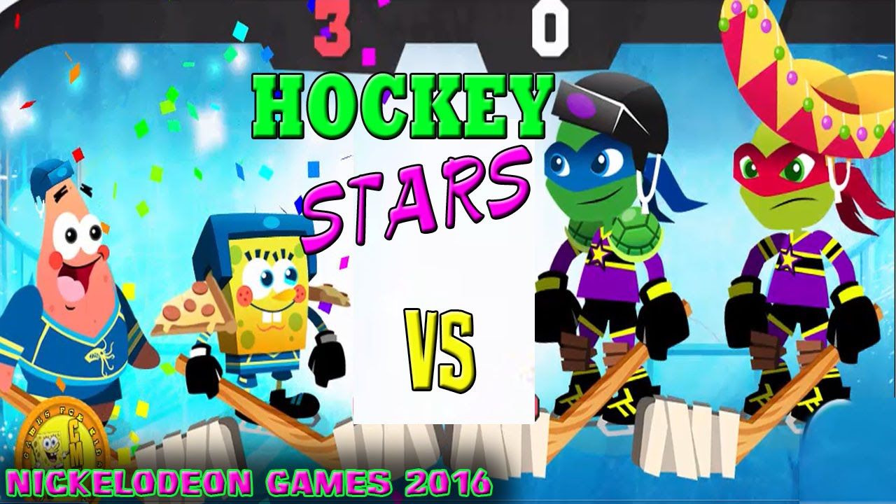 Nickelodeon Games To Play Online Hockey Stars Sports 2016 Youtube
