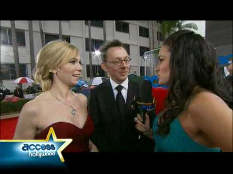 Michael Emerson and Carrie Preston What Will You Do After The Golden Globes?