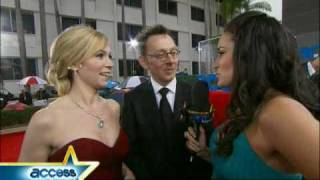 Video Michael Emerson and Carrie Preston What Will You Do After The Golden Globes? download MP3, 3GP, MP4, WEBM, AVI, FLV November 2017